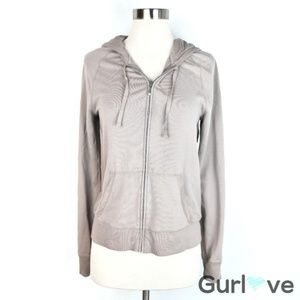 Victoria's Secret Taupe Hooded Sweater M